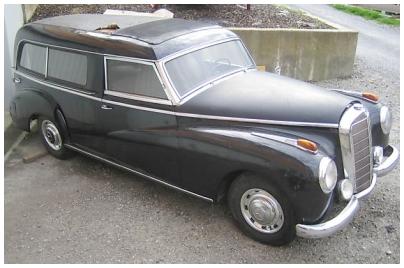 Mercedes Benz 300 Adenauer Bestattungsfahrzeuge 05