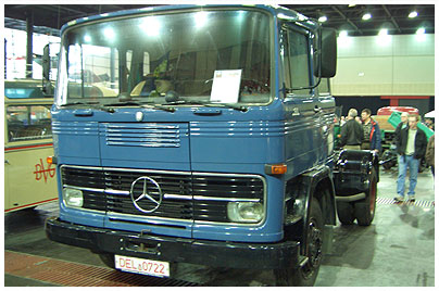 Mercedes Benz Oldtimer Lkw 02a 200007