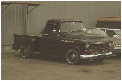 Chevrolet, Pick-up. Bild des Tages vom 01.09.2015