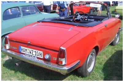 Glas 1300 gt kategorie oldtimer car tuning