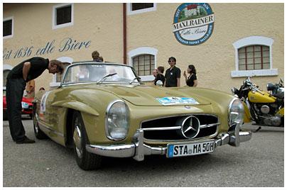 Mercedes-Benz, 300 SL. Bild des Tages vom 23.09.2014