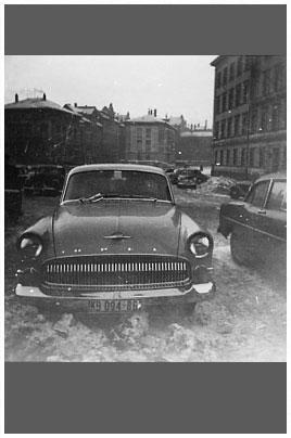 Opel, Kapitän. Bild des Tages vom 25.05.2018