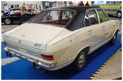 Opel, Olympia 1700. Bild des Tages vom 21.10.2016