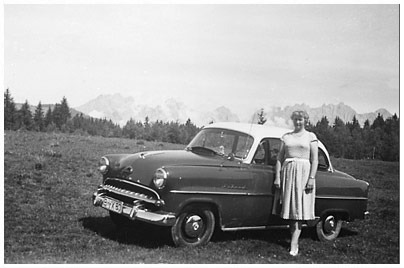 Opel, Olympia Rekord. Bild des Tages vom 27.05.2018