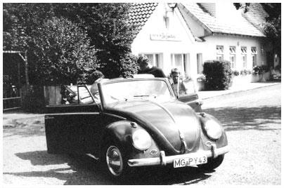 VW, Käfer Cabrio. Bild des Tages vom 26.04.2019
