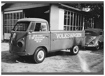 VW, T1. Bild des Tages vom 20.01.2020