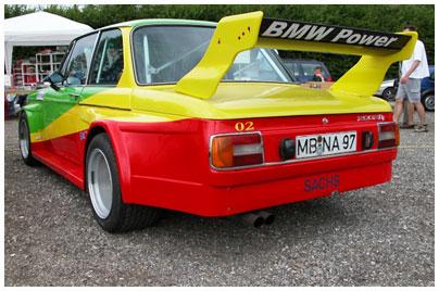BMW, 2002 tii. Bild des Tages vom 18.09.2021