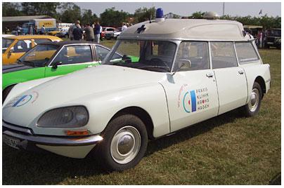 Citroen Ds 20 Ambulance Sonderaufbauten 05 200041