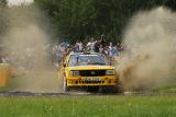 Historische Rallye-Boliden in der Eifel