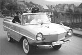 Unverwechselbares Design: das Amphicar