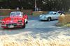 Schön anzusehen und anzuhören: Corvette in der Spitzkehre