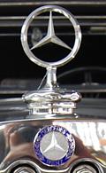 Auch bei Langfingern sehr beliebt: der Mercedes-Stern