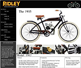 © Ridley Vintage Motorized Bicycles