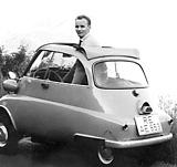 Rolldach serienmäßig: die Isetta