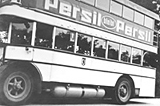 Doppeldeckerbus mit Gasantrieb